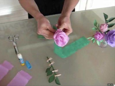 Fleur crepon