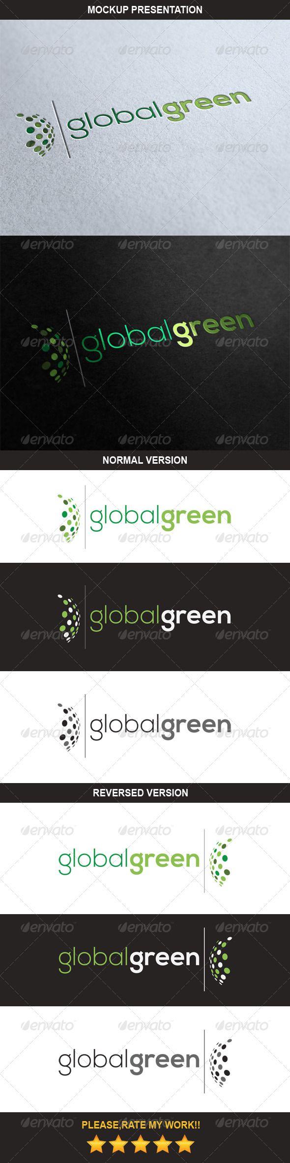 Global Green Logo  EPS Template • Download ➝ https://graphicriver.net/item/global-green-logo/6987340?ref=pxcr