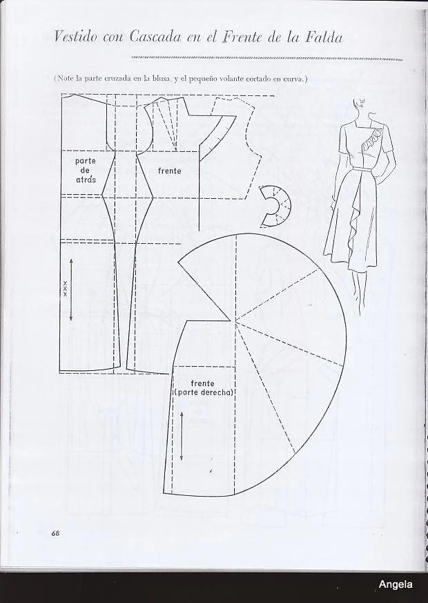 Mejores 64 imágenes de Bases en Pinterest | Moldes de vestidos ...
