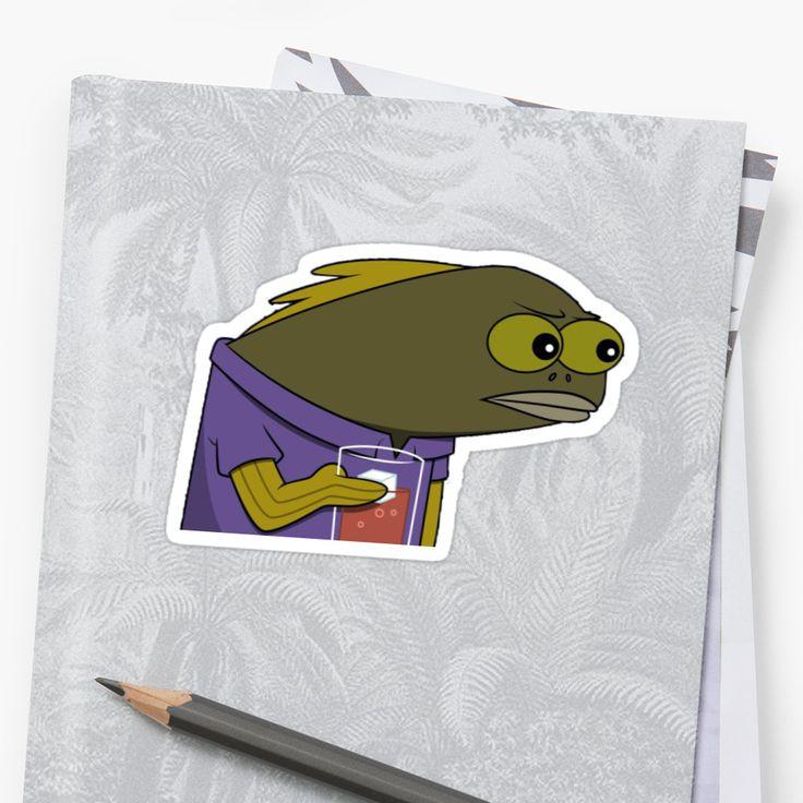 """Spongebob Tom meme"" Stickers by LucVdV | Redbubble"