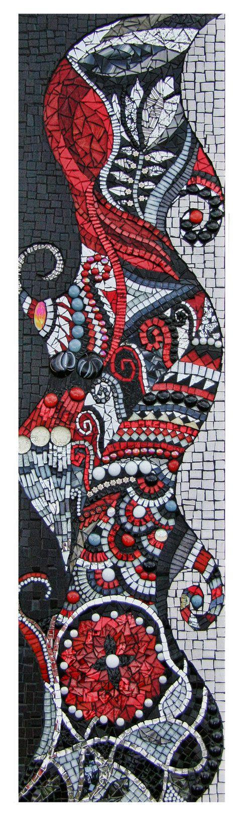 Mosaic BLKW105X by JulieEdmunds-Mosaic on deviantART