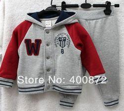 Ucuz Doğrudan Çin Kaynaklarında Satın Alın: Yaz bebek çocuk giyim sets100% inci pamuk çocuk kot setleri dönüş- yaka aşağı çizgili shirts+denim şort freeshippingUs$ 16.00/set Yaz kız giyim setleri
