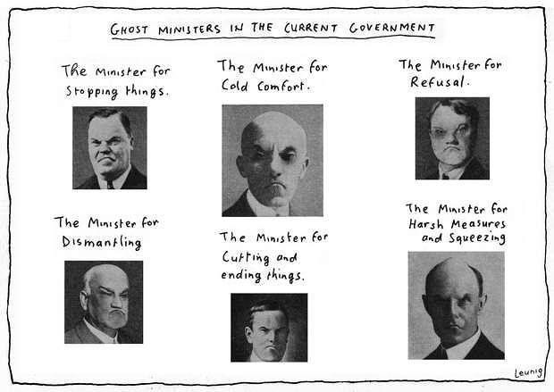 Tony Abbott's faceless men. #australia #auspol #tonyabbott #leunig