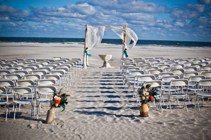 Gorgeous Beach Ceremony E Wedding At Hotel Icona