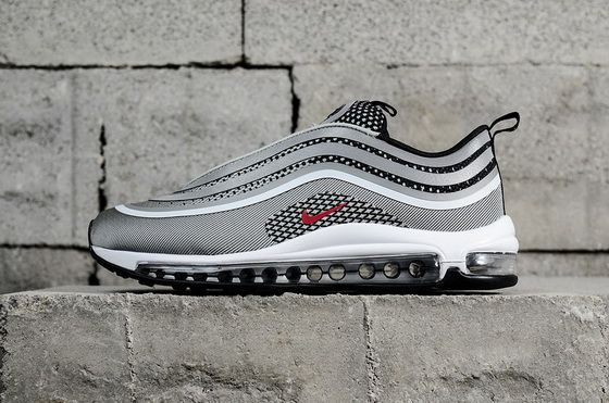 Nike Air Max 97 Ultra 17 Silver Bullet White 918356003 Newest Sneaker 9791652ed