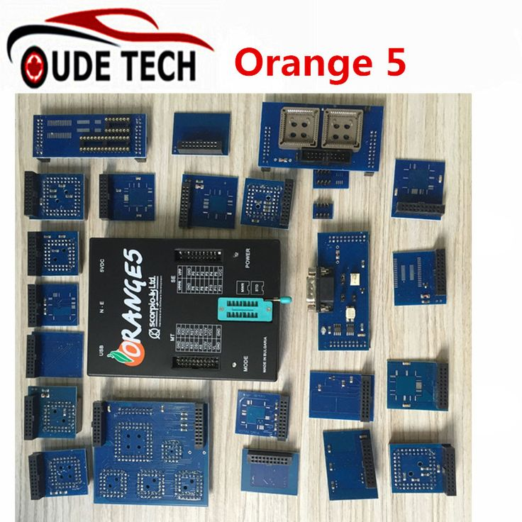 High Quality OEM Orange 5 Programming Device With Full Package and Enhanced Function Software ECU Programmer