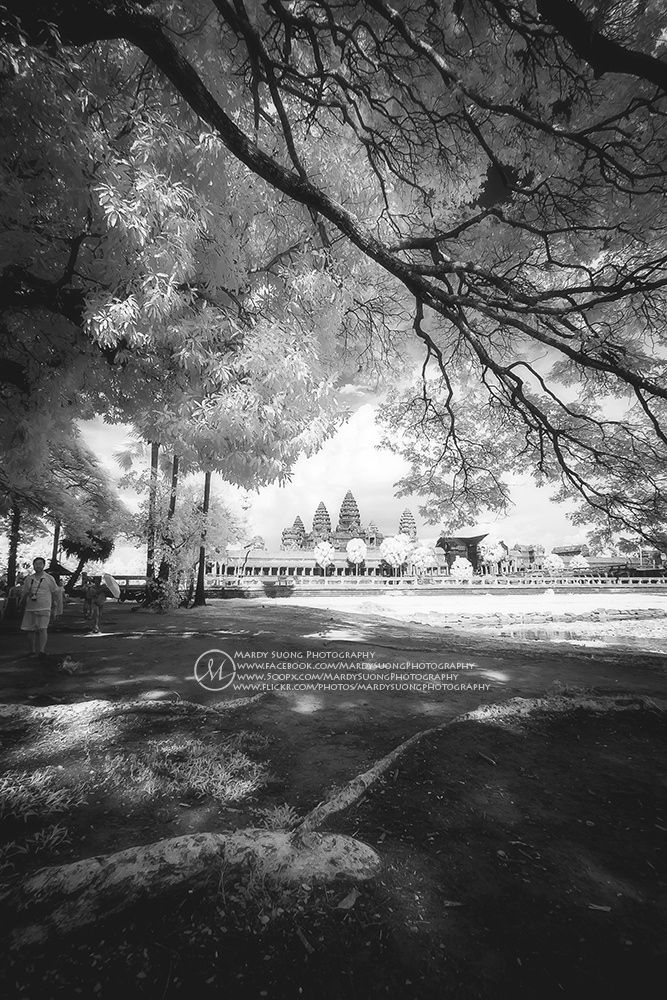 Photo Angkor Wat Temple in Infrared! (ខេត្តសៀមរាប) by Mardy Suong Photography on 500px  #architecture #travel #building #city #photo #photooftheday