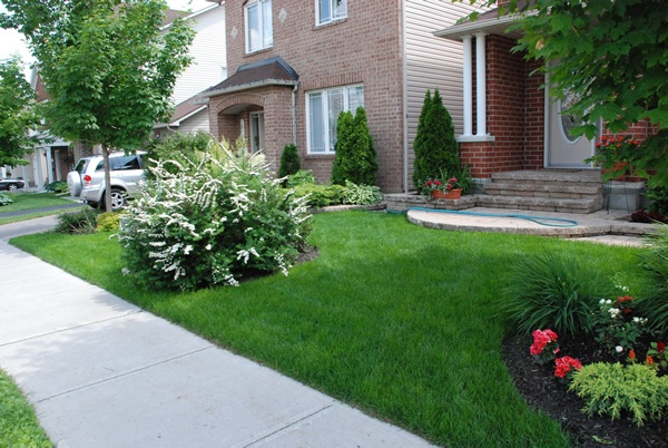 Front Yard Landscaping and Ottawa landscaping companies