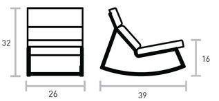 Gus GT Rocker | 2Modern Furniture & Lighting