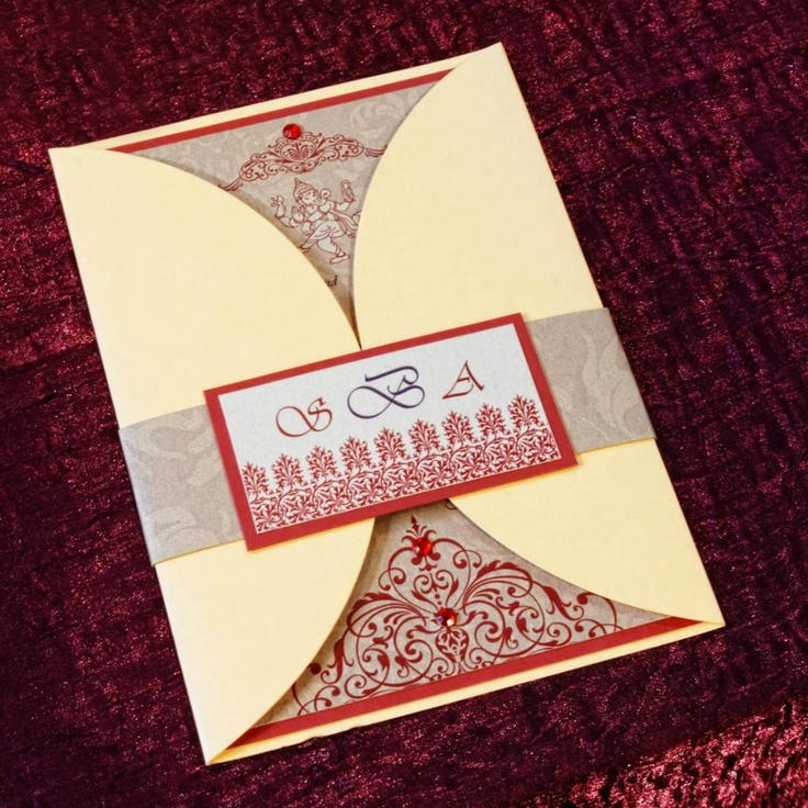 9 Best Indian Wedding Invitations Images On Pinterest