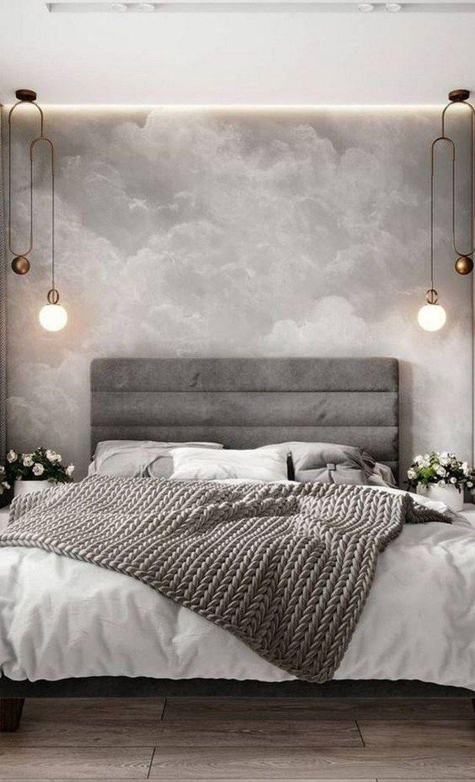 60 New Trend Modern Bedroom Design Ideas For 2020 Remajacantik Modern Bedroom Decor Modern Bedroom Design Bedroom Design Inspiration