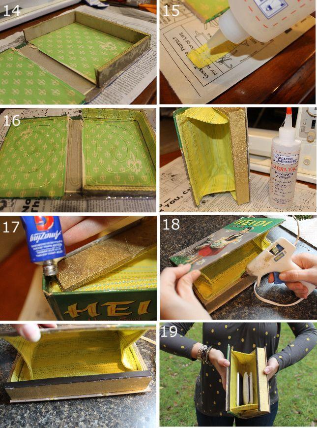 How to make a Book Clutch