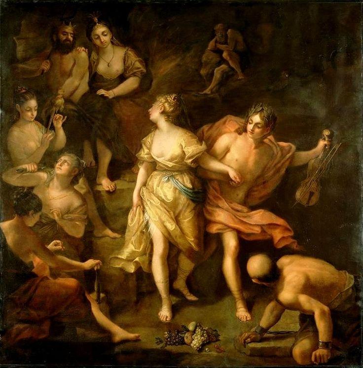 Orfeus a Eurydika, Jean Raoux