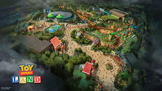 Toy Story Land Announced for Disney's Hollywood Studios, Disney World