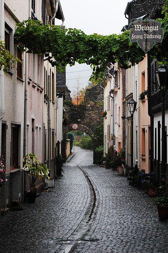 Historic Boppard, Germany