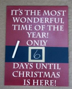 Christmas Countdown 2015 on Pinterest | Days Until Christmas 2015 ...