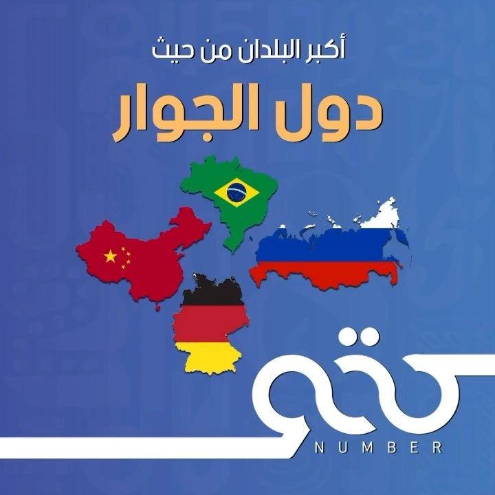 تعرف على أكبر بلدان العالم من حيث عدد دول الجوار الصين تصدرت القائمة رقم معلومة العالم روسيا Country Flags Eu Flag Flag