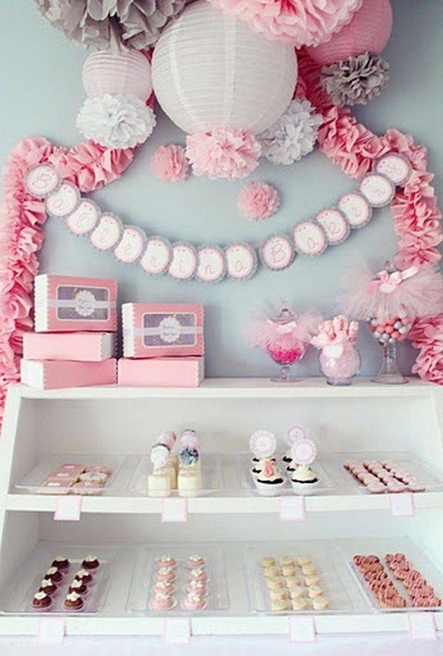 Decoration Baby Shower Fille