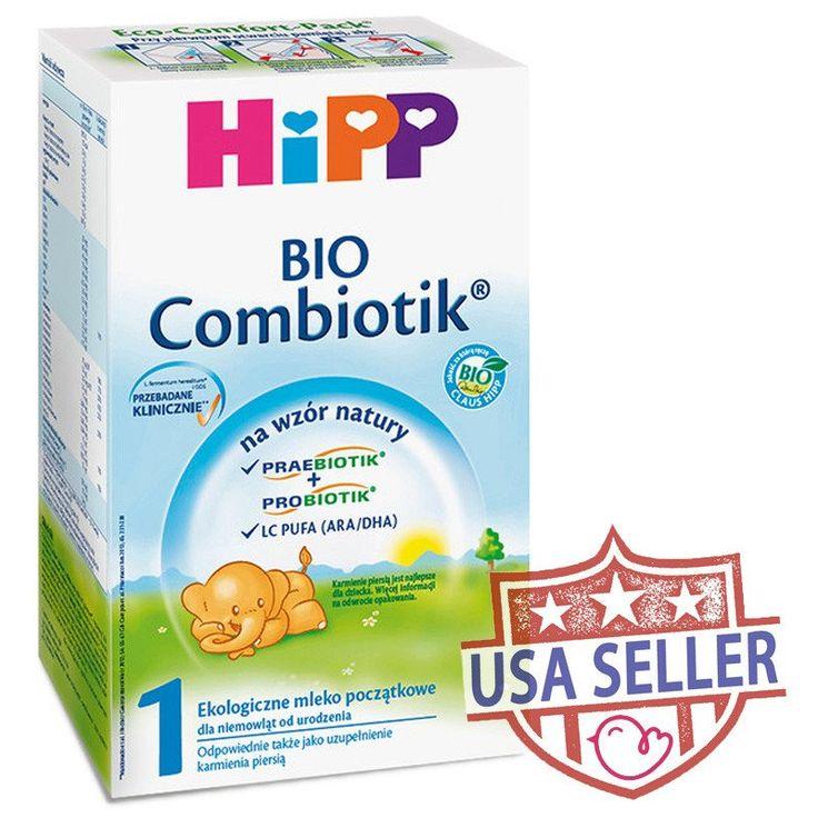 HiPP BIO Combiotic Stage 1 Organic Formula Infant Milk 600g - 0 Months+