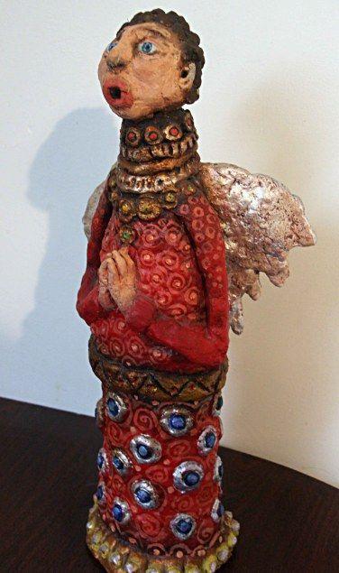 Sculpture from paper mache
