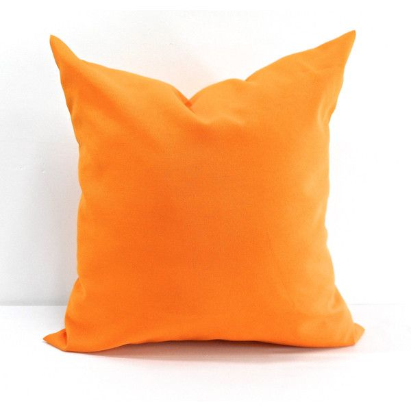 Orange Pillow Fresco Tango Pillow Case Indoor Outdoor Orange Sham... (230 CZK) ❤ liked on Polyvore featuring home, home decor, throw pillows, decorative pillows, home & living, home décor, light pink, door draft stopper, light pink throw pillows and orange home accessories