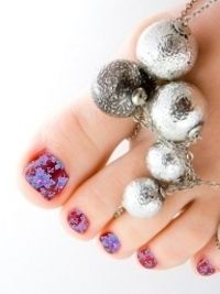 Crafty Pedicure Nail Art Designs