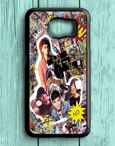 Zayn Malik One Direction Collage Comic Samsung Galaxy S6 Case