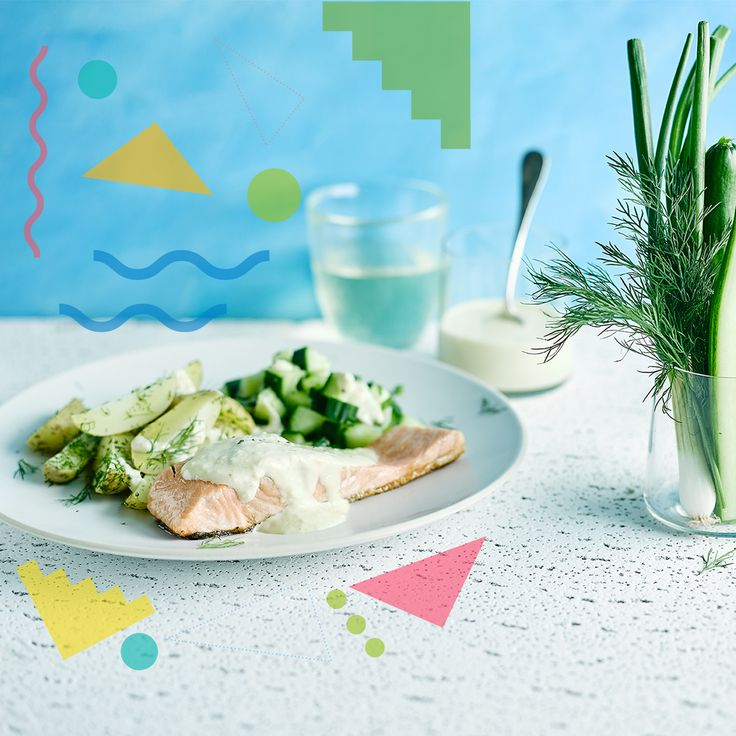 A quick and easy Scandi Salmon With Horseradish Mayo recipe, from our authentic British cuisine collection. Find brilliant recipe ideas and cooking tips at Gousto