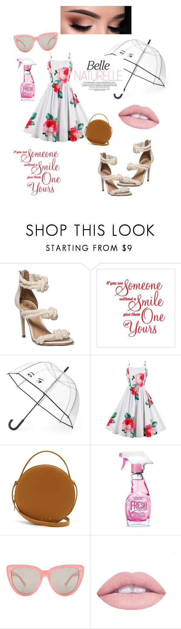 """southernbelle"" by niania-long ❤ liked on Polyvore featuring Kate Spade, PB 0110, Moschino, Quay and L.A. Girl"