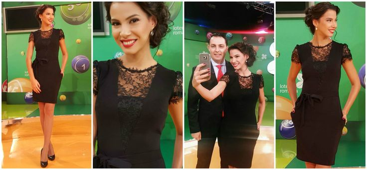 Little black dress with triple veil and lace worn by Irina in her TV show: https://missgrey.org/en/dresses/short-black-lace-dress-with-pockets-claire/515?utm_campaign=martie&utm_medium=rochie_claire&utm_source=pinterest_produs