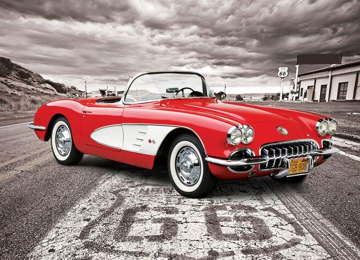 1957 Corvette 1000Piece Puzzle The Chevrolet Corvette C1 is