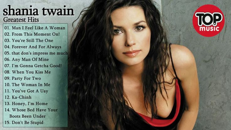 Best of Shania Twain Greatest Hits Full Album 2017