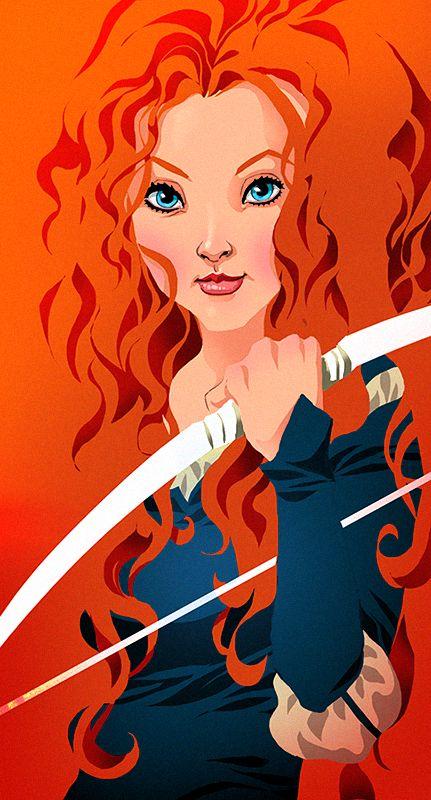 Princess Merida by pungang on DeviantArt