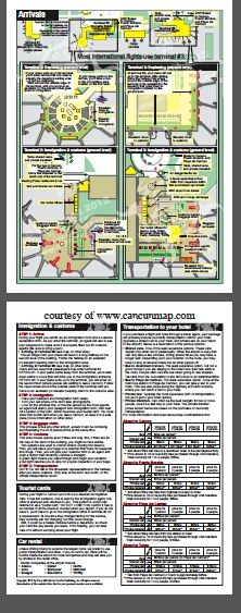 Cancun Airports And Maps On Pinterest