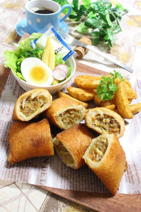 食パンde簡単ピロシキ☆|きーちゃんの世界おうちごはん。 きーちゃんのブログ