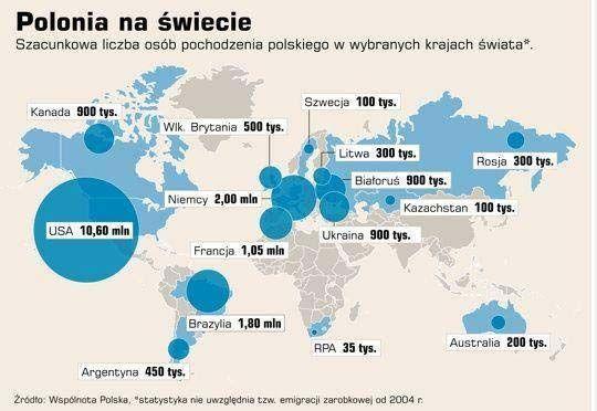 polonia na świecie