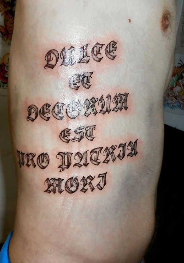 25 best ideas about rib quote tattoos on pinterest for Latin phrases tattoos