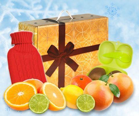 Obstbox VITAMINE & WÄRMFLASCHE: Halsschmerzen, Schnupfen, Fieber - die Grippe hat dich fest im Griff. Lass es erst gar nicht so weit kommen, gehe jetzt in die Offensive. Ein gut funktionierendes Immunsystem hilft dir gesund zu bleiben und das Power-Vitamin C hilft deinem Immunsystem zur benötigten Stärke. Du erhälst ein ganzes Paket voller natürlicher Helfer für dein Wohlergehen. Mach dich fit! Bleiben Sie gesund!