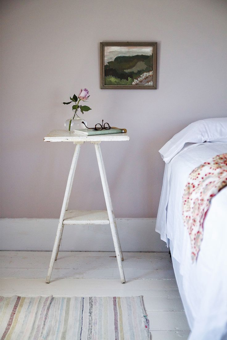 Farrow & Ball to announce their Nine New Color additions to their 132-color collection. Peignoir, a dusty shade of pale pink, for my daughter's room, and Cromarty, a watery pale blue green,