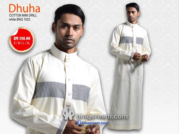 Thobe Jubah lelaki moden jubba Binqareem Malaysia