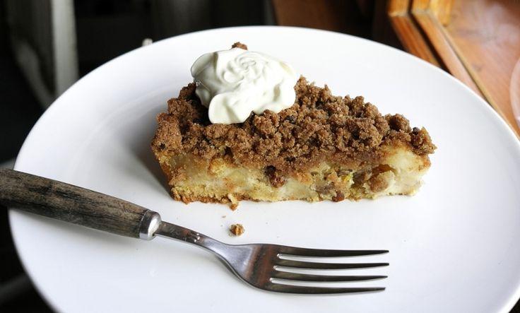 Kitchenette — Šťavnatý a křupavý jablečný koláč