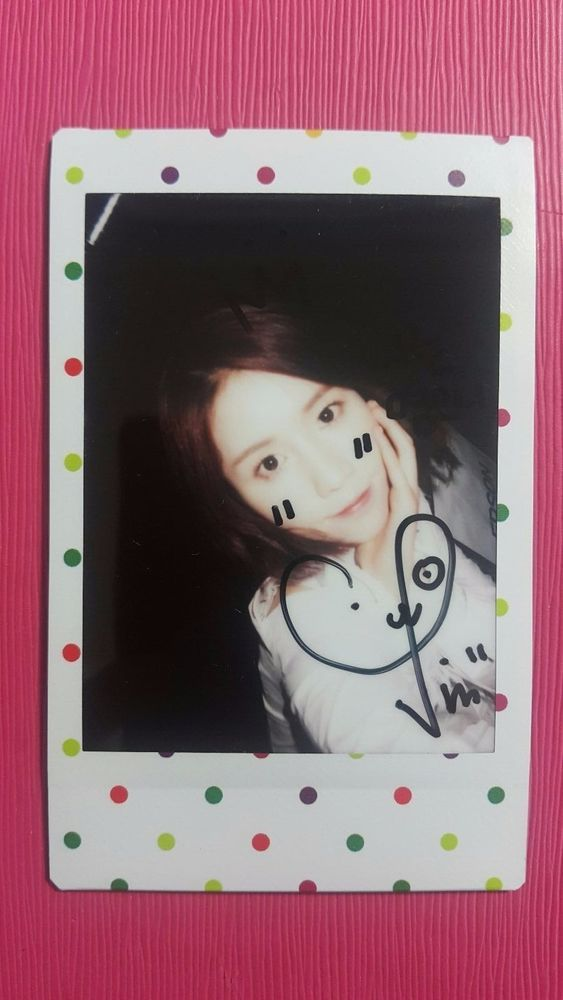 LOVELYZ JIN Official Limited Polaroid A NEW TRILOGY 2nd Album GRAVITY Photocard