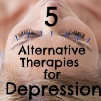 Can alternative therapies for depression help reduce symptoms?