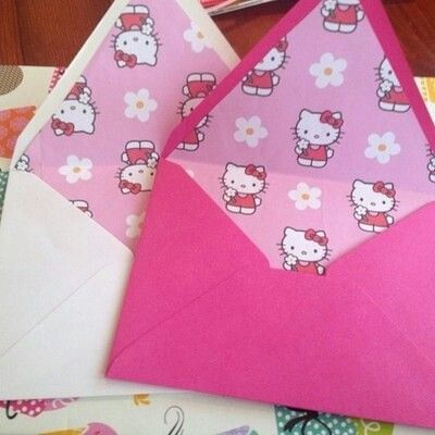 Hello Kitty envelopes