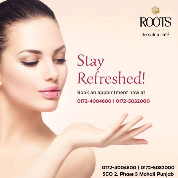 Put Your Best Face Forward Book Your Appointment For Glowing Skin Services At 0172 4004600 0172 5032000 Bea Roots Salon Salon Services Best Face Products