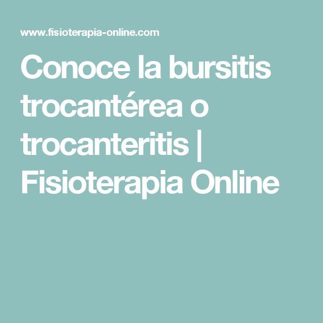 Conoce la bursitis trocantérea o trocanteritis | Fisioterapia Online