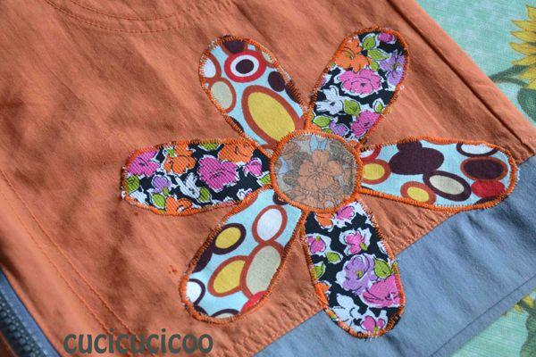 Copri un buco o uno strappo nei vestiti con una toppa / applicazione fai-da-te semplice e simpatica!