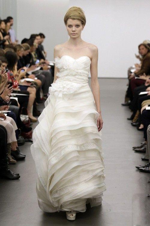 Robes de mariée avec le sens stéréoscopique (II) | Robe de mariée  demoiselle d'honneur