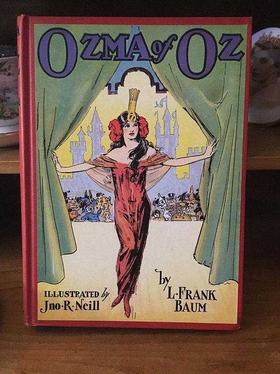 1907 Ozma of Oz Copp Clark Canadian Printing