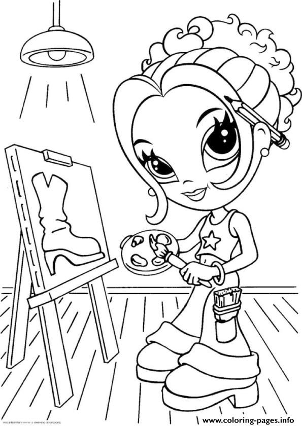 A4 Coloring Pages To Print Lisa Frank Coloring Books Unicorn Coloring Pages Coloring Pages